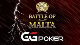 Серия «Battle of Malta Online» с гарантией $30M стартует 1 ноября на GGПОКЕРОК