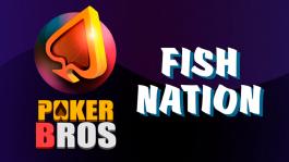 Клуб FishNation (приложение PokerBros) — круглосуточная загрузка в кеше и МТТ
