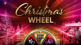 «Рождественское колесо», серия нокаут турниров и другие новости partypoker перед Новым годом