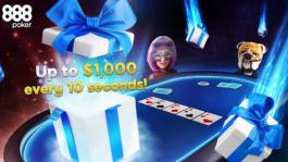 Лови подарки до $1,000 в новой акции 888poker Made To Go Turbo Drops
