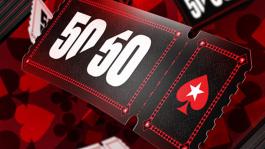 Обзор 50/50 Series на PokerStars: два турнира с гарантией $1M по воскресеньям