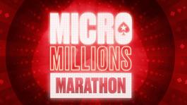MicroMillions Marathon на PokerStars: 107 турниров за четыре дня