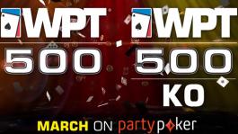 WPT500 Online — мини-серия на partypoker с гарантией более $4M