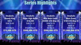 Omaholic Series — две недели турниров по Омахе на GGПОКЕРОК с гарантией $7M