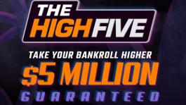The High Five — новая серия PokerKing с гарантией $5M для любителей отдохнуть