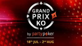 Grand Prix KO: летняя серия partypoker с гарантией более $2,2M
