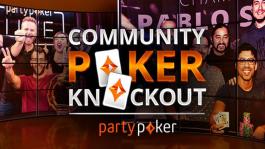 На partypoker разыграли более $20,000 и специальные призы в турнире Community Knockout