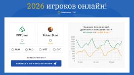 Новый сервис со статистикой покерных приложений на сайте
