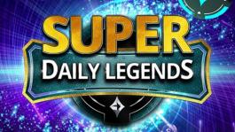 Розыгрыш: $1,600 билетами на Super Daily Legends (срок: до 3 октября)