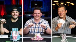 Первые обладатели браслетов WSOP 2021 — покерный профи, дилер и бизнесмен