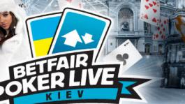 Самый привлекательный турнир этой зимы – Betfair Poker LIVE; Кубок Киева 15-20 декабря.