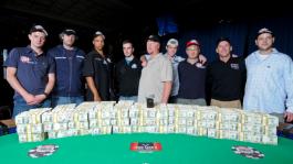 Финалисты WSOP: Дарвин Мун, Эрик Бучман, Стив Беглейтер